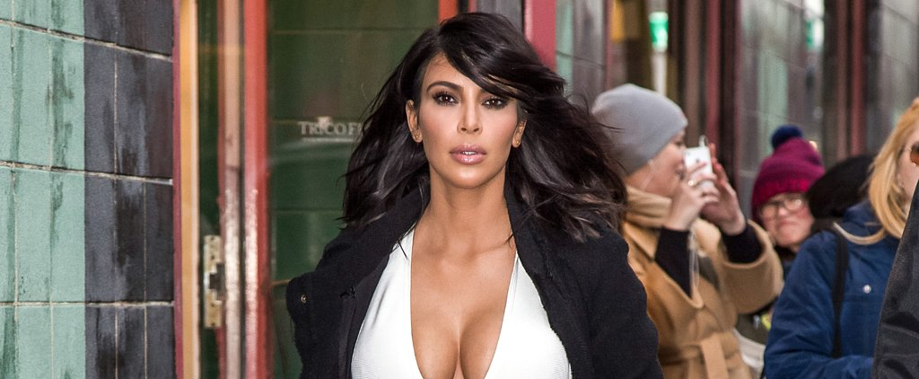 Kim Kardashian's Outfit Will Give You the Chills