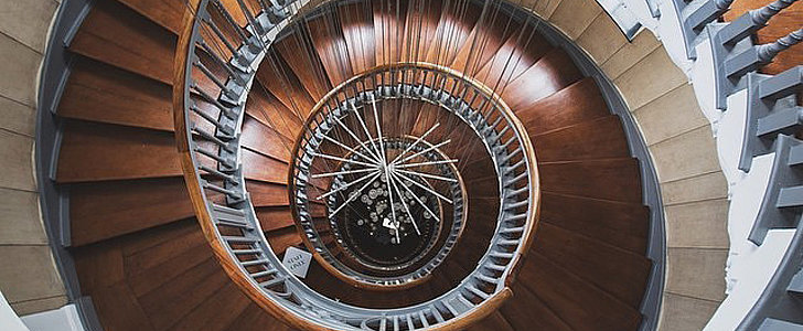 You Won't Be Able to Take Your Eyes Off These Magnificent Spiral Staircases
