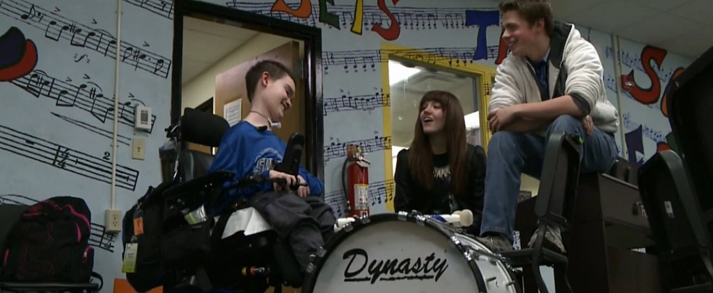 Muscular Atrophy Doesn't Stop This Inspiring Musician From Drumming