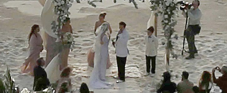 Johnny Depp and Amber Heard Tied the Knot on His Private Island — See the Pics!
