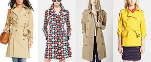 Dig Out the Most Stylish Spring Trench Coats