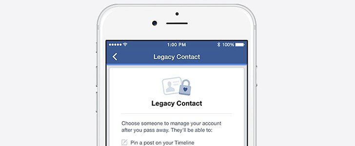 Facebook's New Legacy Contact Feature Is, Unfortunately, Completely Necessary