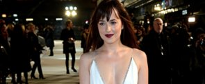Dakota Johnson's White Gown Is the Sexiest Thing We've Ever Seen Her In