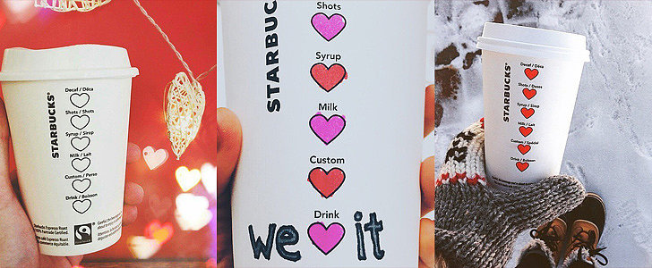 11 Pics That Prove the New Starbucks Heart Cups Are the Cutest