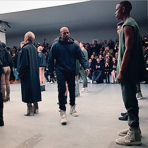 Kanye West X Adidas at New York Fashion Week