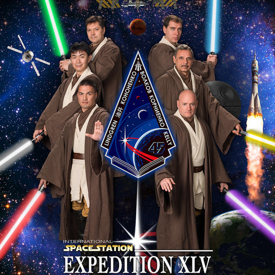 NASA Star Wars Jedi Poster