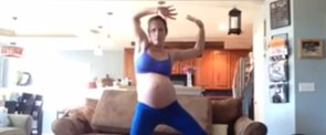 This Mom Tried to Thrill Her Baby Out of the Womb by Dancing to Michael Jackson