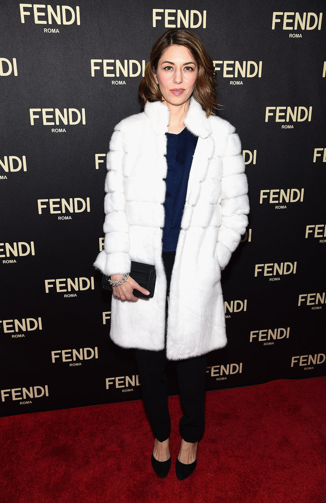 Sofia Coppola attended the opening of Fendi's flagship store.