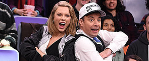 Taylor Swift and Jimmy Fallon Are Expert Jumbotron Dancers