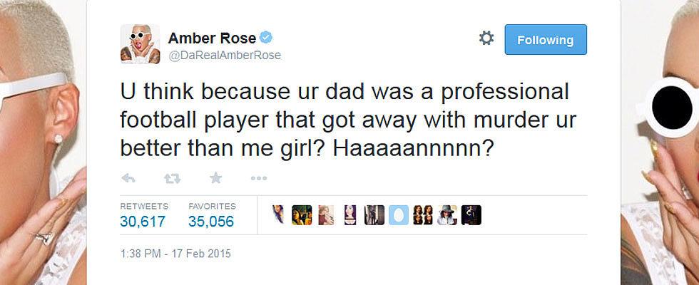 This Twitter War Between Khloe Kardashian and Amber Rose Is Mega Nasty