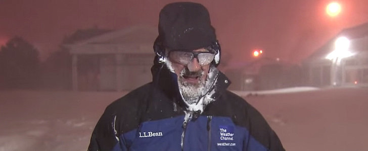 This Meteorologist Absolutely Freaks Out, Jumps For Joy Over Thundersnow