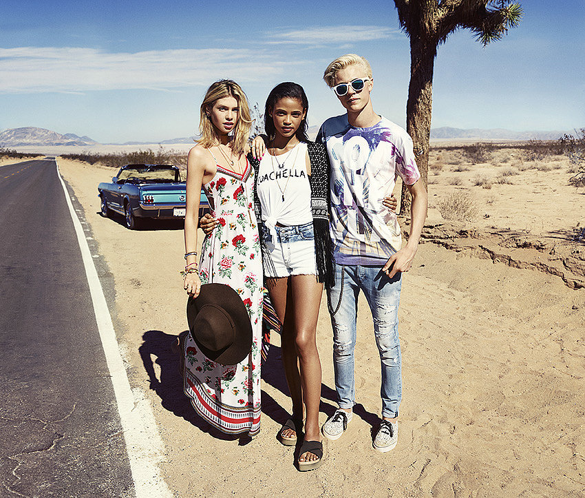 h&m loves coachella inspiration post outfits
