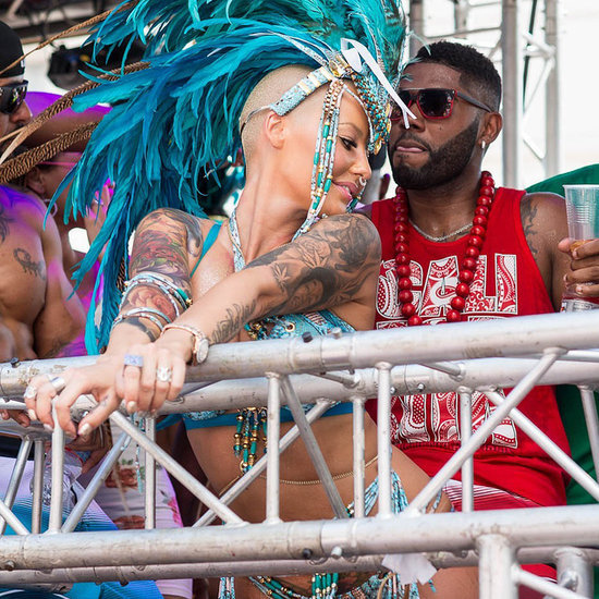 Amber Rose at Carnival