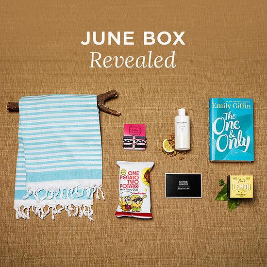 June 2014 POPSUGAR Must Have Box Reveal Contents