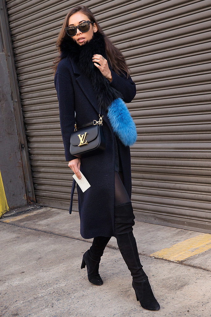 Street Style Stars At New York Fashion Week Fall 2015 Popsugar Fashion
