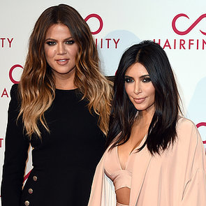 Kim and Khloe Kardashian and North West in Car Accident