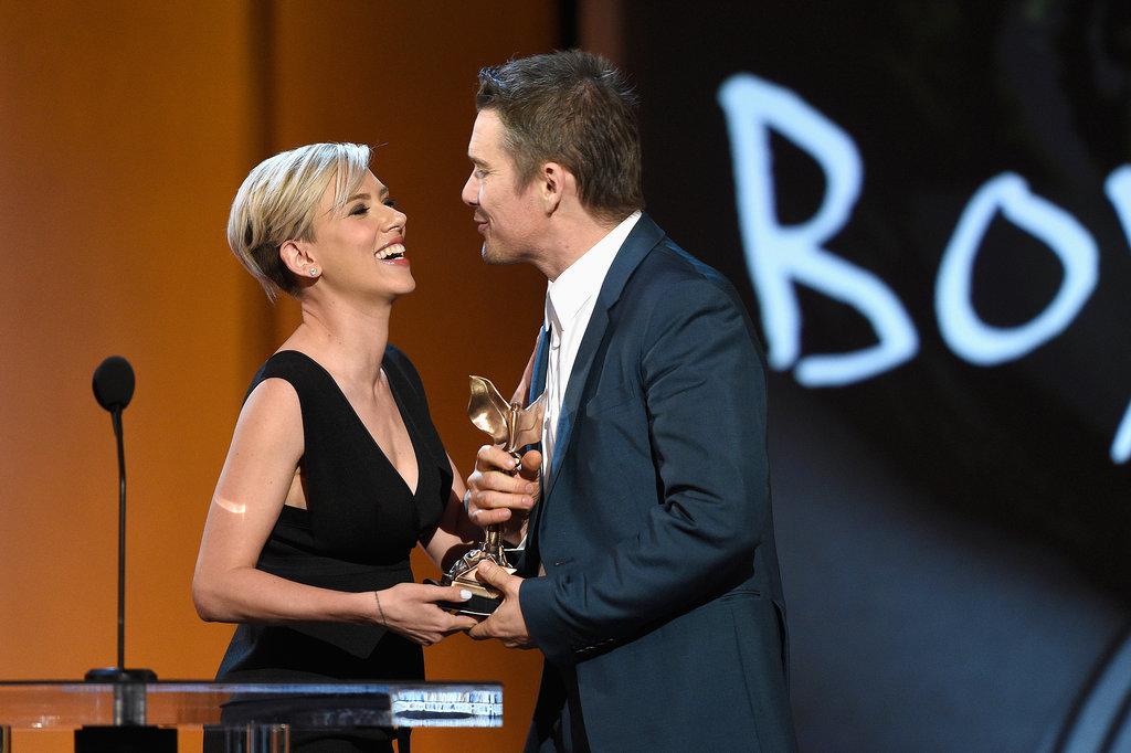 Scarlett Johansson and Ethan Hawke