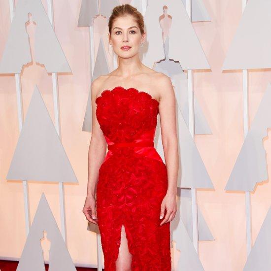 Rosamund Pike's Dress at the Oscars 2015
