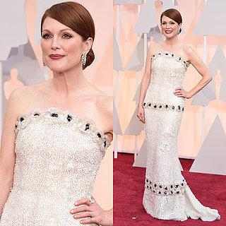 Julianne Moore's Chanel Kleid bei den Oscars 2015