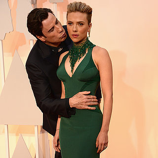 Scarlett Johansson et John Travolta Oscars 2015