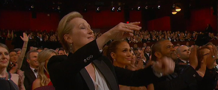 Everyone in the Audience Freaked Out at Patricia Arquette's Acceptance Speech