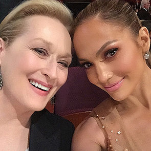 Jennifer Lopez Instagram Pictures From 2015 Oscars