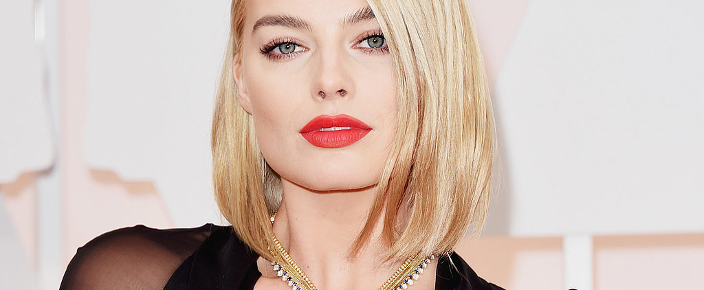 Margot Robbie's New Bob Is Taking the Oscars Red Carpet