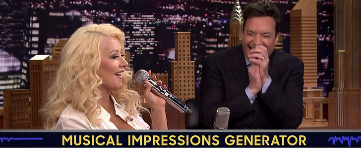 Christina Aguilera's Britney Spears Impression Is Just Plain Perfect