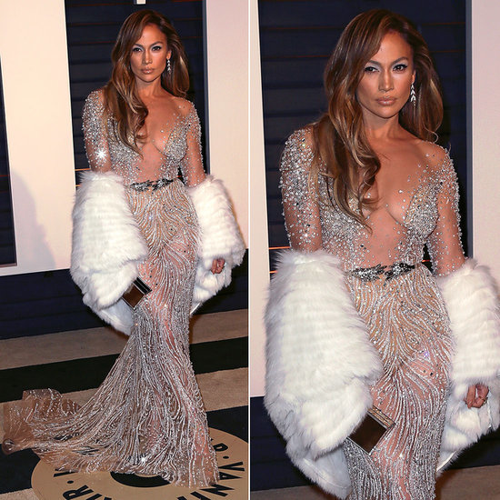 Jennifer Lopez's Dress at the Oscars Afterparty 2015