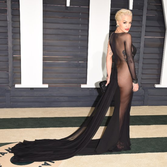 Poll: Rita Ora Was Practically Naked at the Vanity Fair Oscars Party