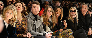 The Burberry Front Row Upped the London Fashion Week Ante