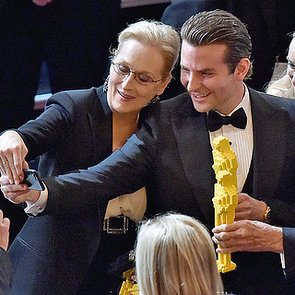 Pictures of Celebrities Inside the 2015 Oscars