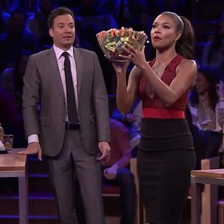 Gabrielle Union Plays Random Object Shootout on Tonight Show