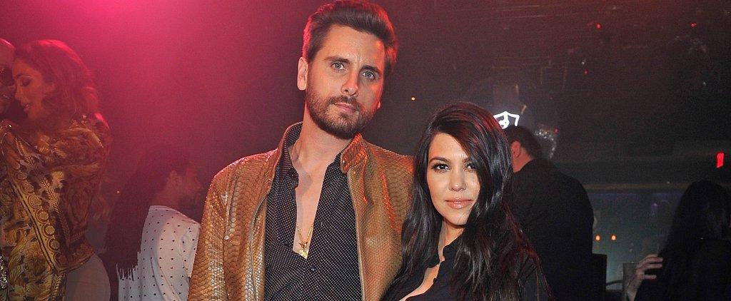Kourtney Kardashian Watches Over Scott Disick at a Vegas Party