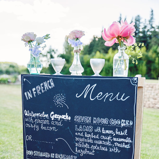 Not Letting Wedding Guests Choose Meal