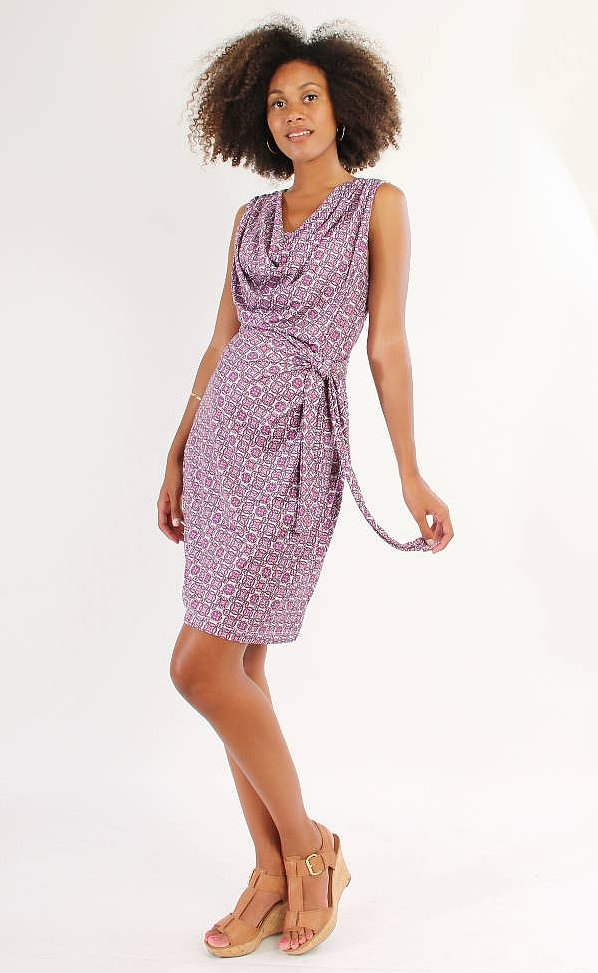 Japanese Weekend Nursing Drape Dress