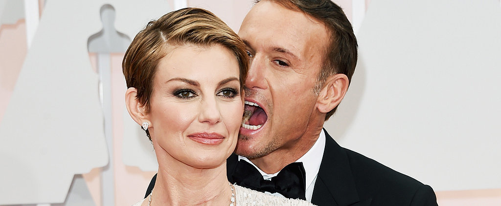 Tim McGraw and Faith Hill Brought Their Love to the Oscars Red Carpet