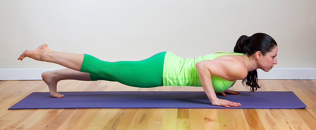 POPSUGAR Shout Out: The 8-Minute Yoga Sequence That Will Get You Toned