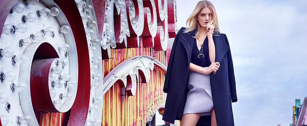 Victoria Secret Model Lily Donaldson Fronts the New Kookai Autumn Winter Campaign