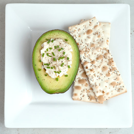 Avocado-Cheese Snack