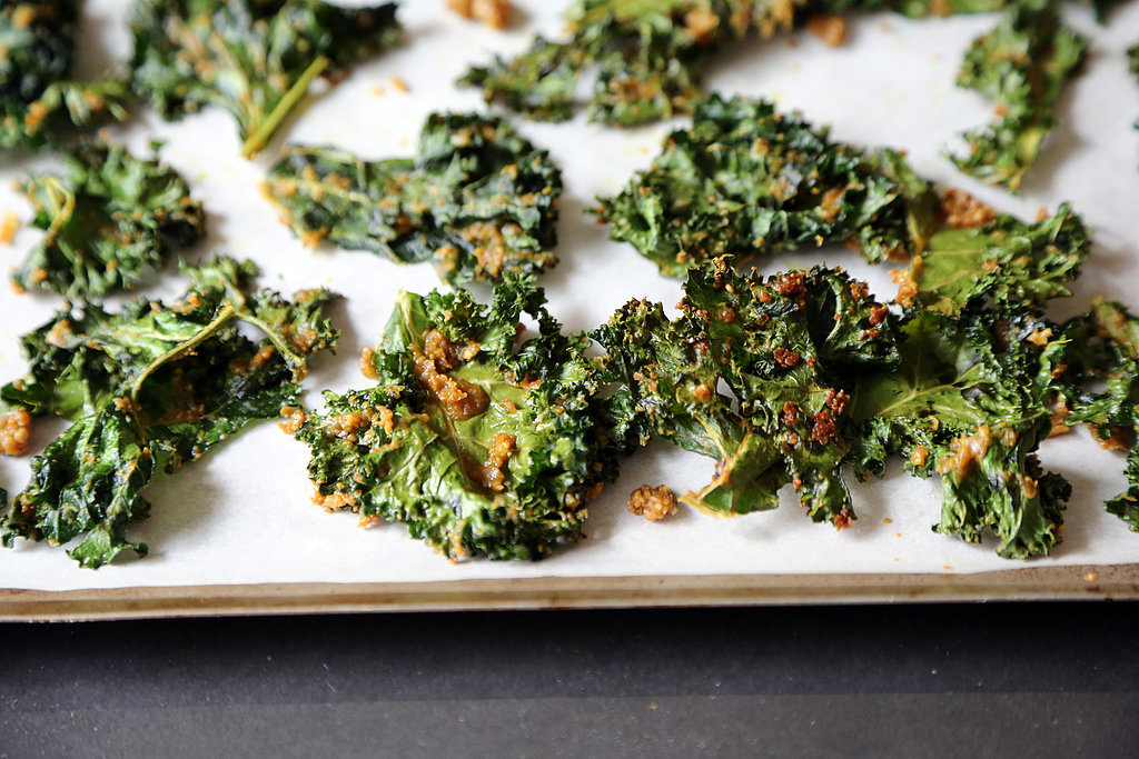 Make sure the kale is completely dry before you attempt to dress it ...