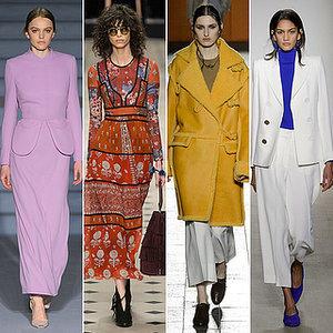 London Fashion Week Fall 2015 Trends