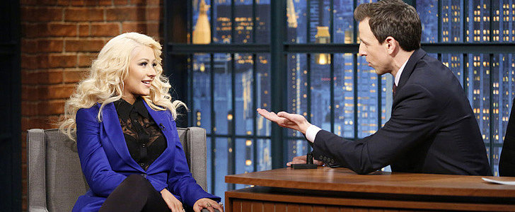 Christina Aguilera Continues Her Awesome Impression Streak