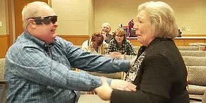 Blind Man Sees His Wife For the First Time In A Decade After Getting Bionic Eye Implant