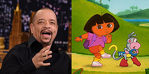 Ice-T Voices 'Dora The Explorer' And Other Cartoons Like He Clearly Always Should Have