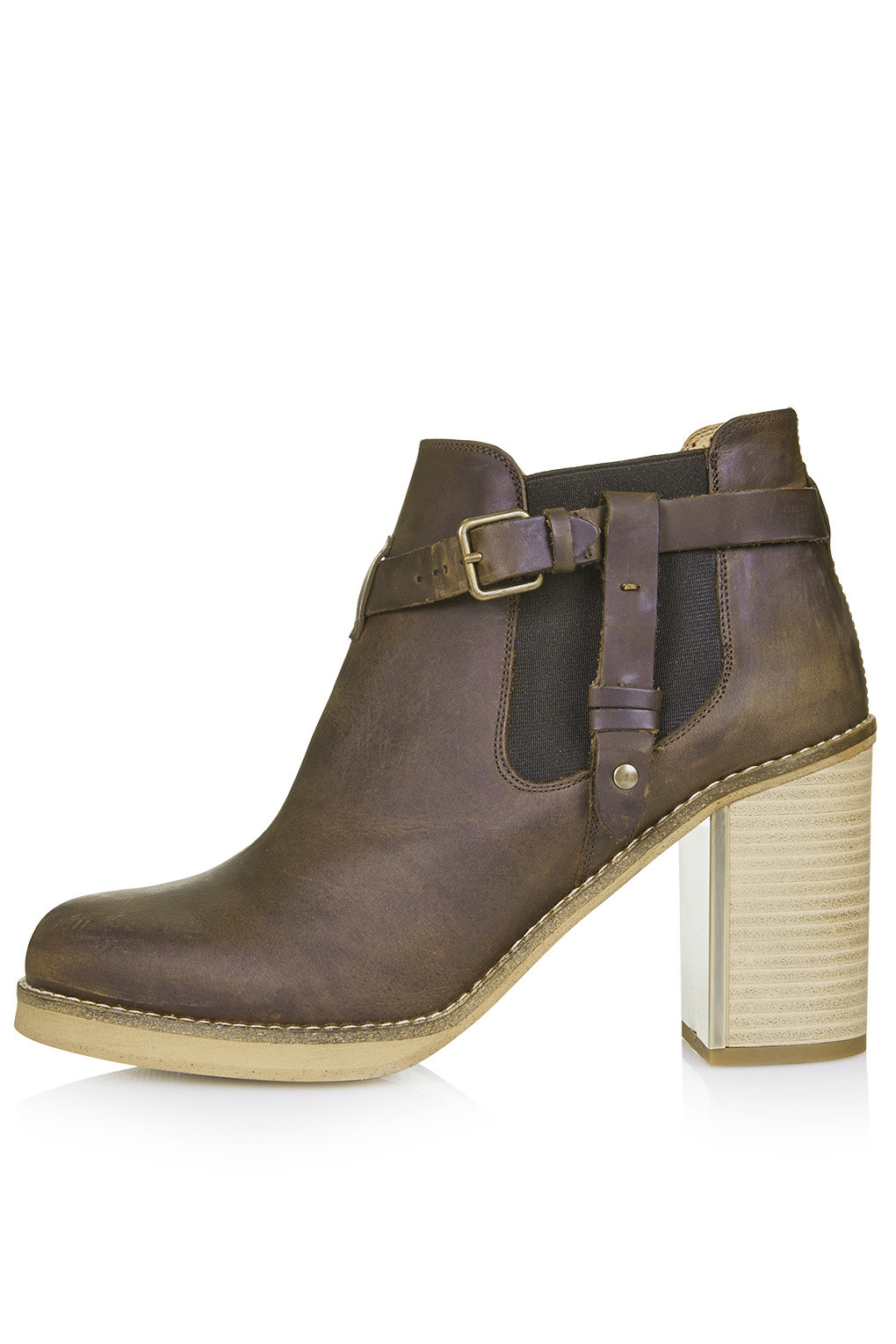 topshop brown leather ankle boots 25 pairs of shoes to