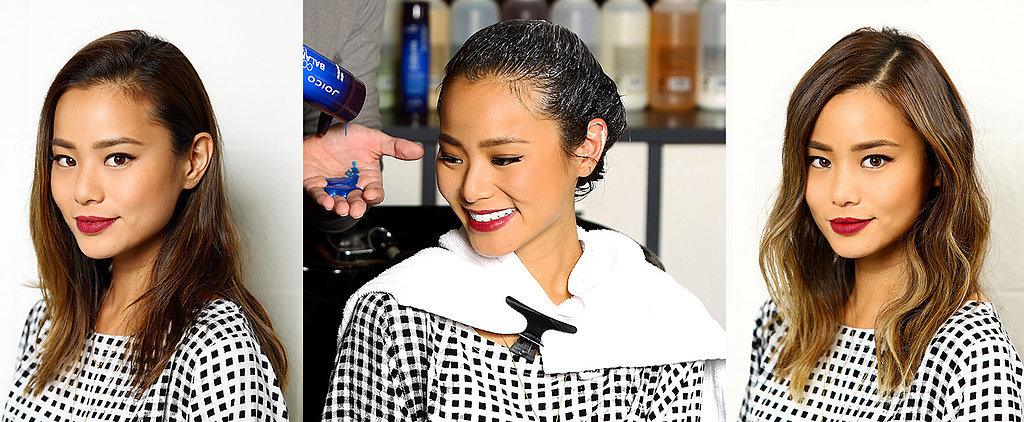 Watch Jamie Chung's Hair Transform With Soft Highlights