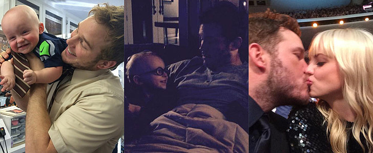 Chris Pratt and Anna Faris Couldn't Be Cuter on Social Media