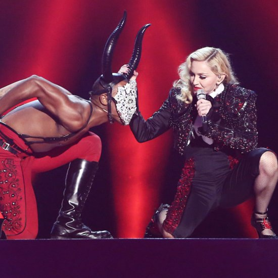 Madonna Talks About Her Brit Awards Performance