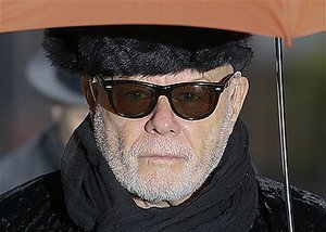 An Unemotional Gary Glitter Is Handed His Sentence